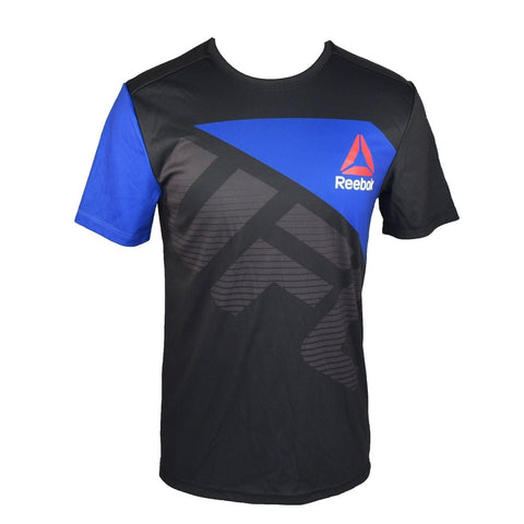 REEBOK UFC JERSEY WALKOUT FRANKIE EDGAR BLACK/BLUE - MSM FIGHT SHOPUFC