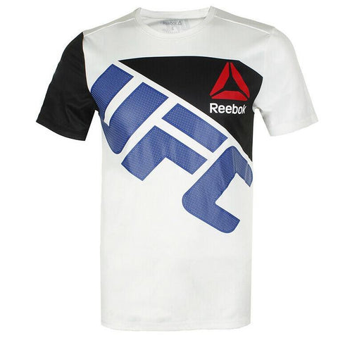 REEBOK UFC JERSEY WALKOUT WHITE/BLACK/BLUE - MSM FIGHT SHOPUFC