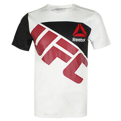 REEBOK UFC JERSEY WALKOUT WHITE/BLACK/RED - MSM FIGHT SHOPUFC