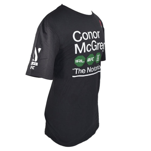 REEBOK UFC SHIRT CONOR MCGREGOR NOTORIOUS SUBWAY BLACK - MSM FIGHT SHOPUFC