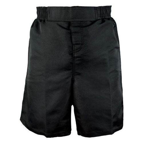 REVGEAR PREMIER FIGHT SHORTS ADULT BLACK - MSM FIGHT SHOPREVGEAR