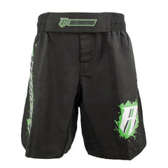 REVGEAR SHORTS YOUTH MMA BLACK/GREEN - MSM FIGHT SHOPREVGEAR