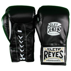 CLETO REYES FIGHT GLOVES SAFETEC BOXING BLACK - MSM FIGHT SHOP