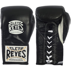 CLETO REYES FIGHT GLOVES SAFETEC BOXING BLACK - MIAMI FORT LAUDERDALE