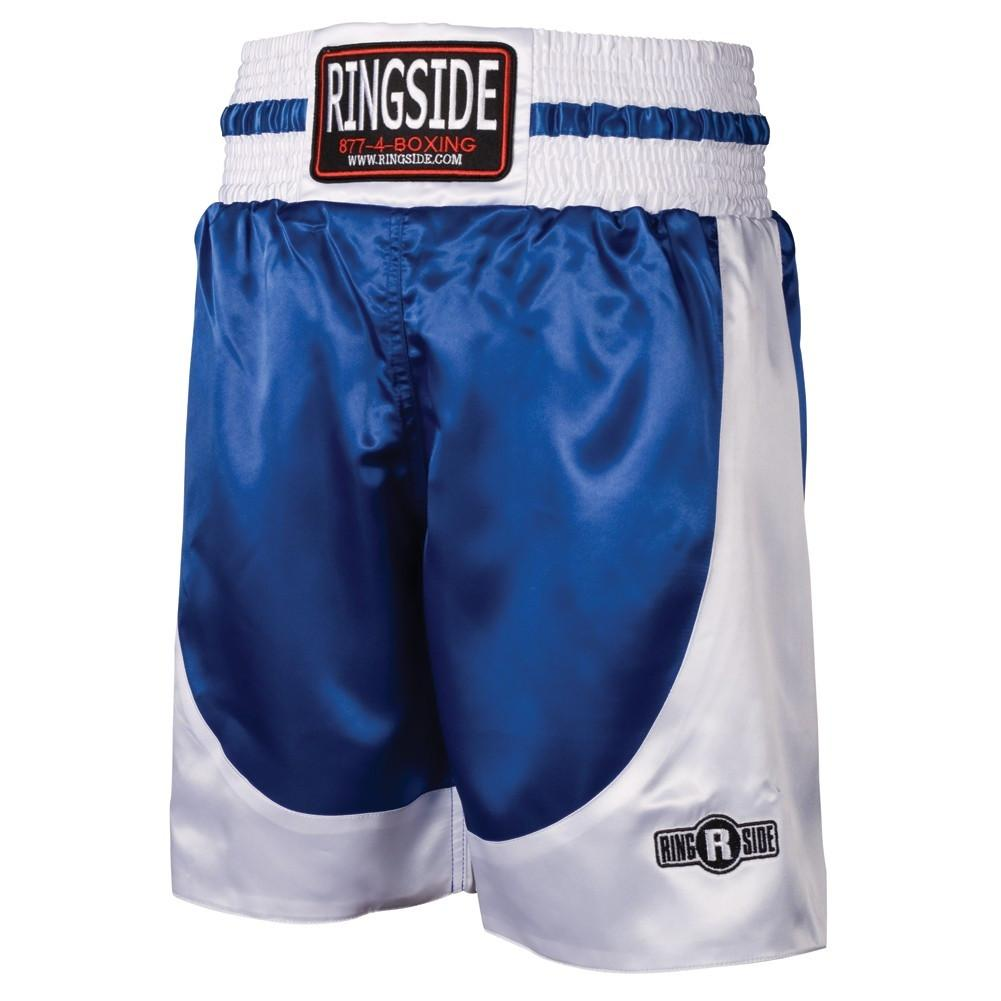 RINGSIDE BOXING SHORTS PST BLUE / WHITE - MSM FIGHT SHOPRINGSIDE