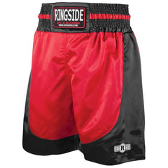 RINGSIDE BOXING SHORTS YOUTH PST RED/BLACK - MSM FIGHT SHOPRINGSIDE