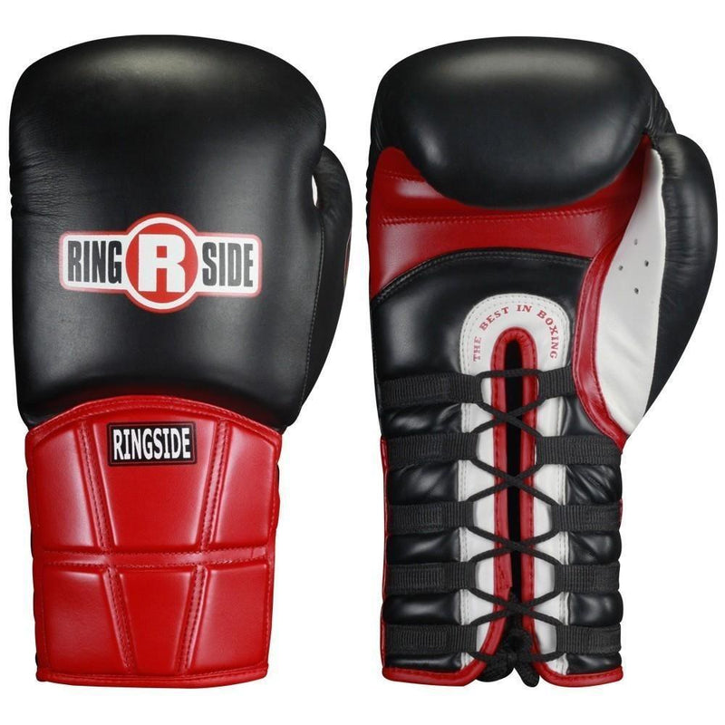 RINGSIDE GLOVES LACE BLACK / RED RP - MSM FIGHT SHOPRINGSIDE
