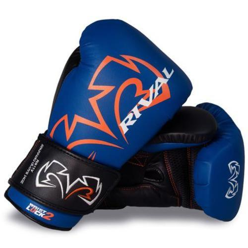 RIVAL GLOVES RS11V BOXING VELCR BLUE/BLACK - MSM FIGHT SHOPRIVAL BOXING