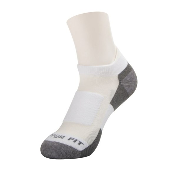 TRU FIT SOCKS 9 PAIRS ARCH SUPPORT MESH TOP SOCK SIZE 10-13 SHOE | SIZE 7-12 BLACK/GREY