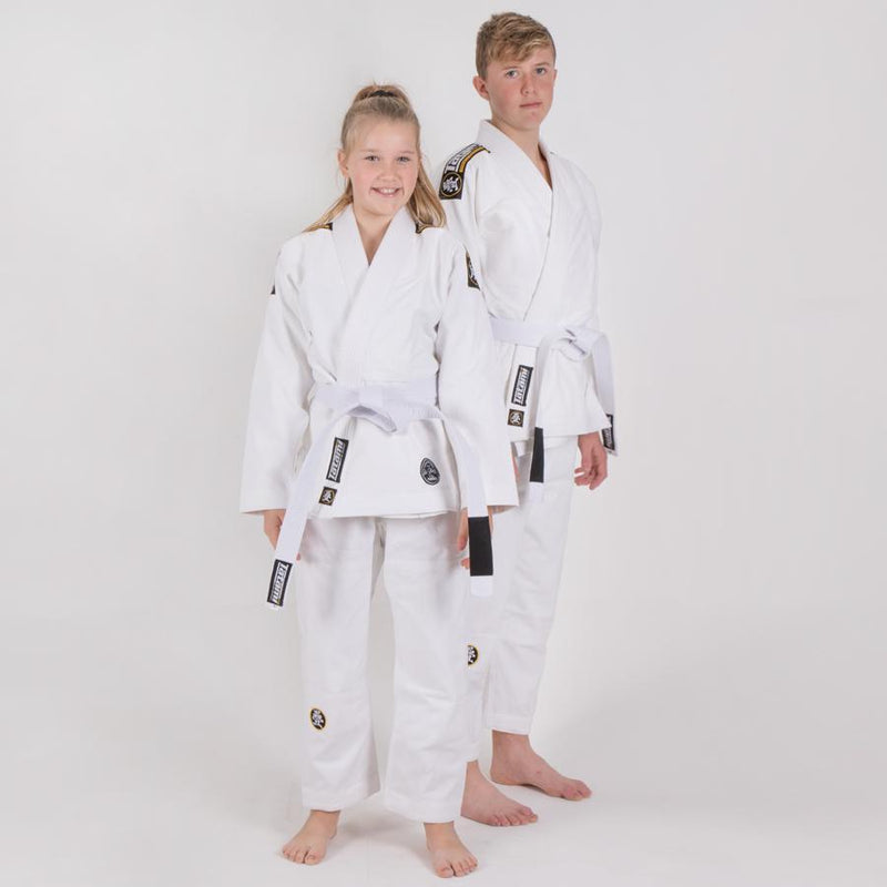 TATAMI GI YOUTH NOVA ABSOLUTE BJJ WHITE - MSM FIGHT SHOPTATAMI