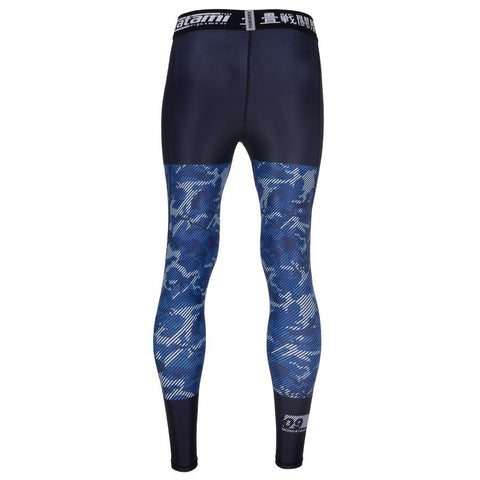 TATAMI SPATS ESSENTIAL CAMO - BLACK BLUE - MSM FIGHT SHOPTATAMI