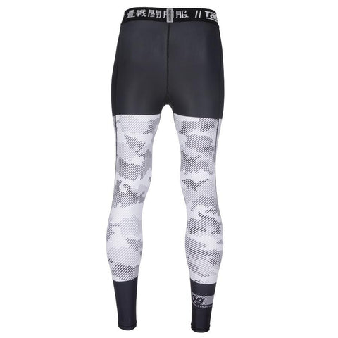 TATAMI SPATS ESSENTIAL CAMO - BLACK WHITE - MSM FIGHT SHOPTATAMI