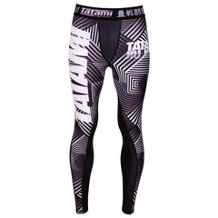 TATAMI SPATS ESSENTIAL GEO BLACK/WHITE/GREY - MSM FIGHT SHOPTATAMI