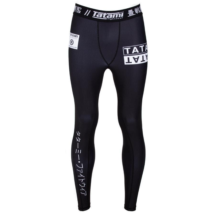 TATAMI SPATS WHITE LABEL BLACK/WHITE - MSM FIGHT SHOPTATAMI