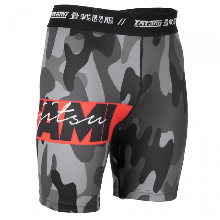 TATAMI VALE TUDO SHORTS RED BAR CAMO - MSM FIGHT SHOPTATAMI