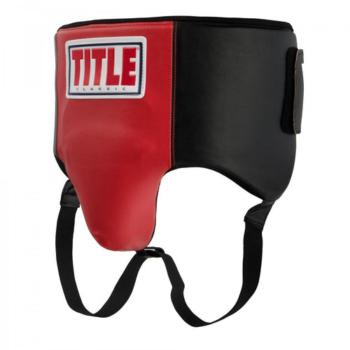 TITLE CUP ULTRA LIGHT GROIN PROTECTION BLACK/RED - MSM FIGHT SHOPTITLE BOXING