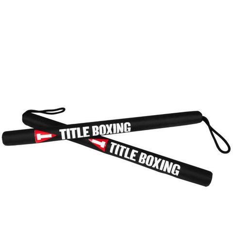 TITLE HIT STICKS PRECISION TRAINING PAIR BLACK - MSM FIGHT SHOPTITLE BOXING