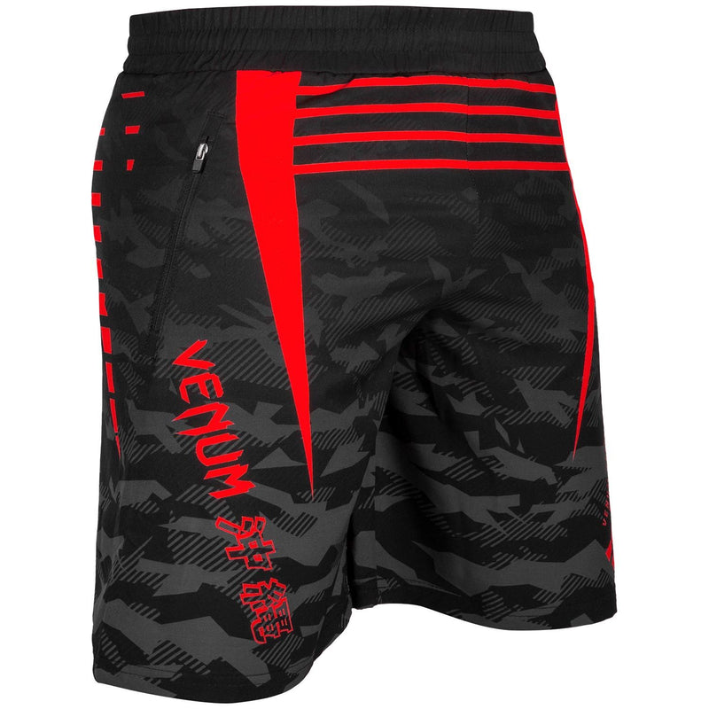 VENUM SHORTS OKINAWA 2.0 TRAINING - CAMO BLACK/RED