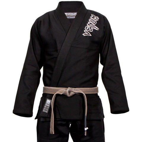 VENUM GI BJJ CONTENDER 2.0 BLACK - MSM FIGHT SHOPVENUM