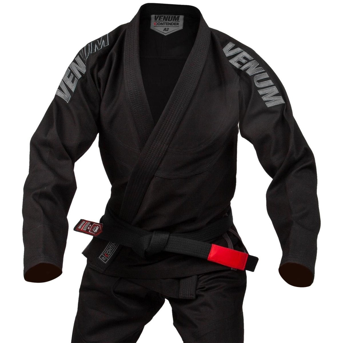 VENUM GI BJJ CONTENDER EVO ADULT BLACK - MSM FIGHT SHOPVENUM