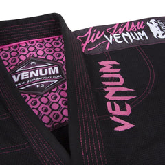 VENUM GI CHALLENGER BJJ LADIES BLACK/PINK - MSM FIGHT SHOPVENUM