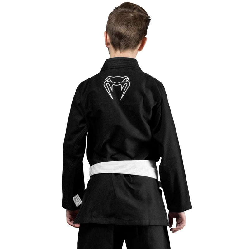 VENUM GI YOUTH CONTENDER BLACK - MSM FIGHT SHOPVENUM