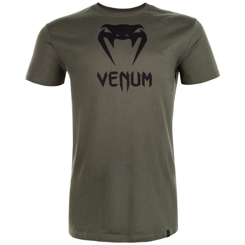 VENUM SHIRT CLASSIC KHAKI - HUNTER GREEN - MSM FIGHT SHOPVENUM