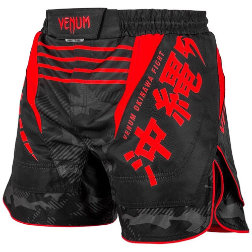VENUM SHORTS OKINAWA 2.0 MMA BLACK/RED - MSM FIGHT SHOPVENUM