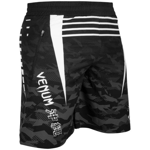 VENUM SHORTS OKINAWA 2.0 TRAINING - BLACK/WHITE - MSM FIGHT SHOPVENUM