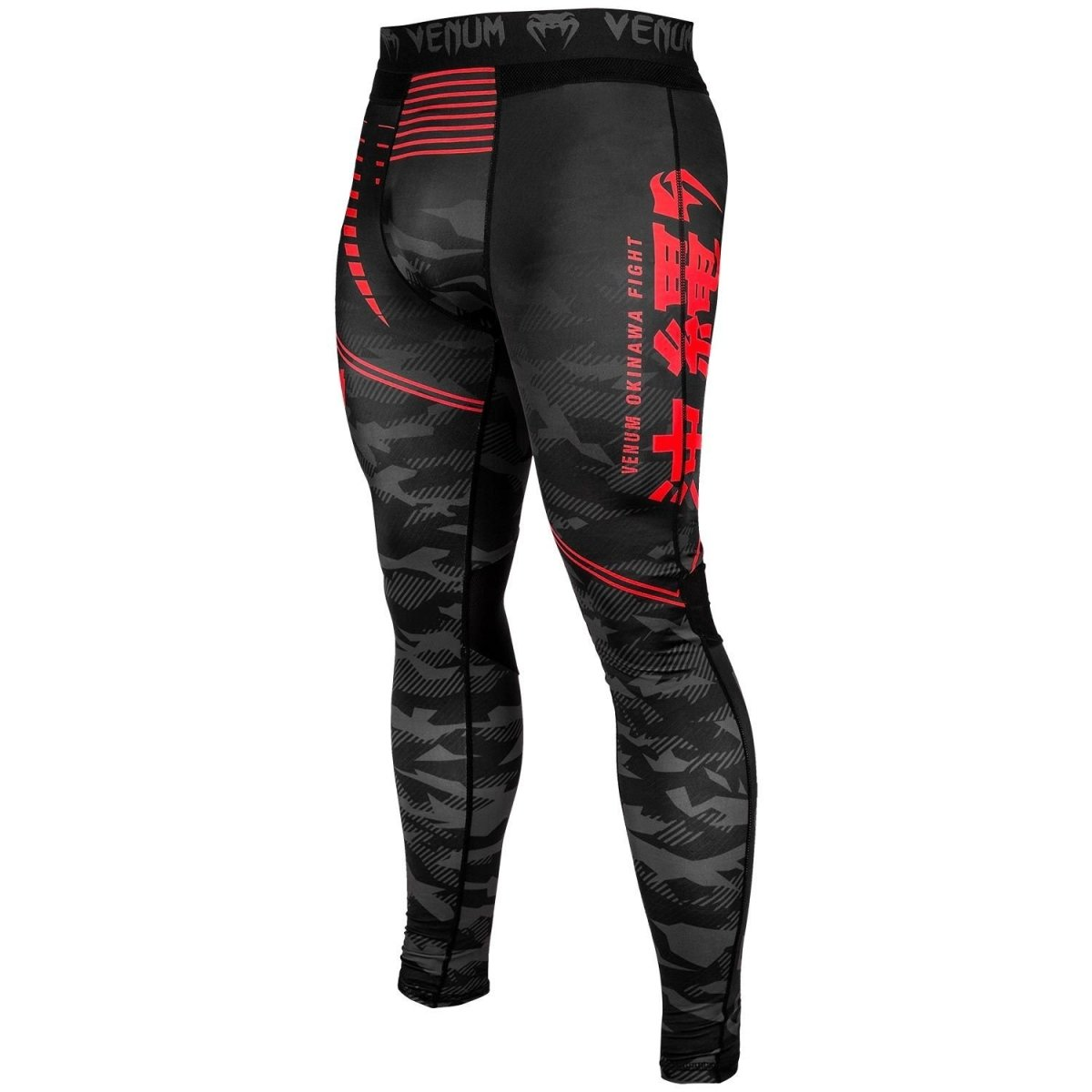 VENUM SPATS OKINAWA 2.0 BLACK/RED - MSM FIGHT SHOPVENUM