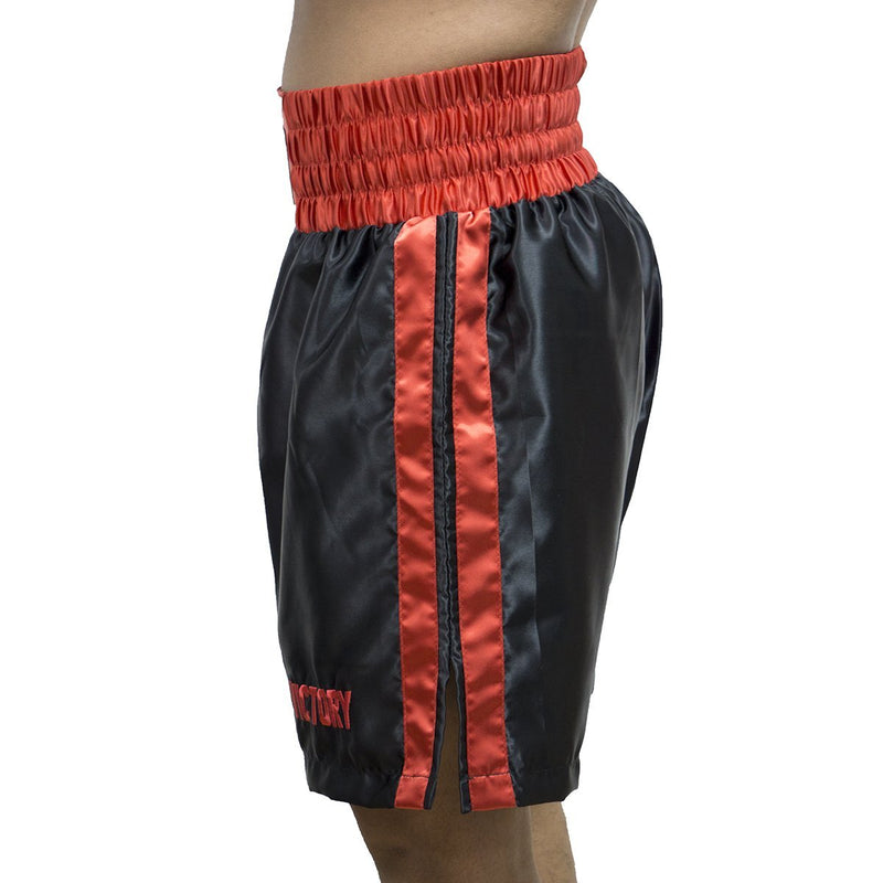 VICTORY BOXING SHORTS CLASSIC SERIES BLACK/RED - MSM FIGHT SHOPVICTORY FIGHT GEAR