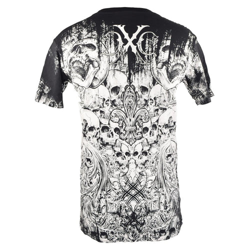 XTREME COUTURE SHIRT GENTLEMAN SKULL 6 BLACK/WHITE SMALL - MSM FIGHT SHOPXTREME COUTURE