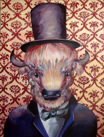 "Bisonham Lincoln 48""x 36"""