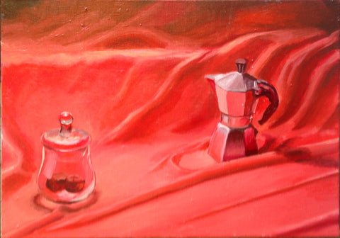 "Coffee and Chocolate III 14"" x 20"""