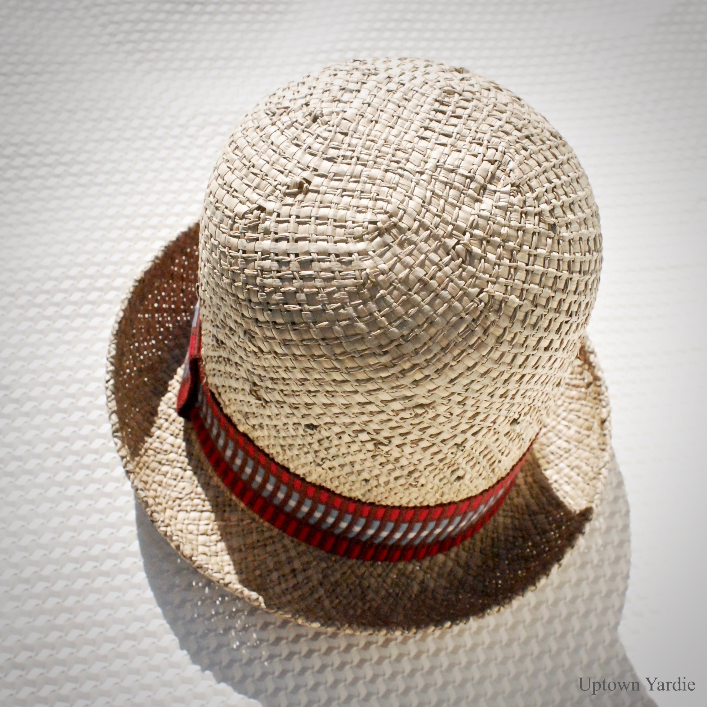 Yardie Crown (Straw with woven jacquard band)