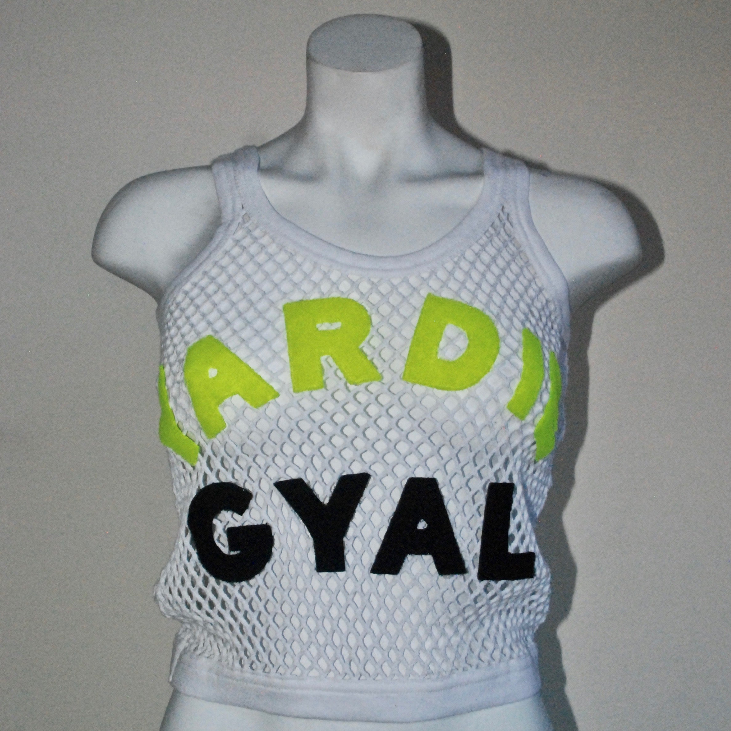Uptown Yardie  Cropped String Vest