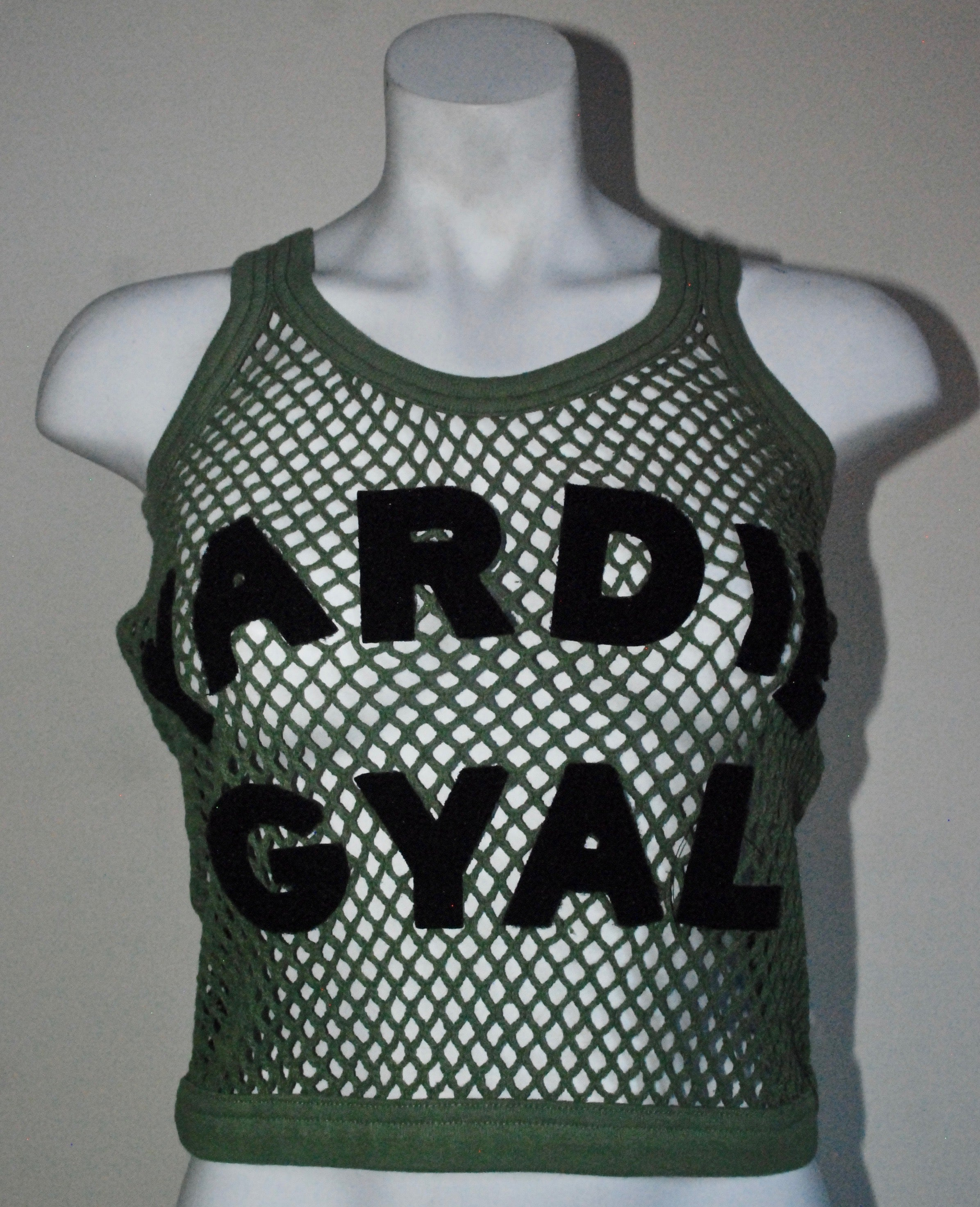 Cropped Yardie Gyle String Vest