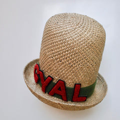 Yardie Crown (Straw with velcro letters)
