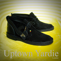 Custom Yardie Boot Blk, Handmade to order