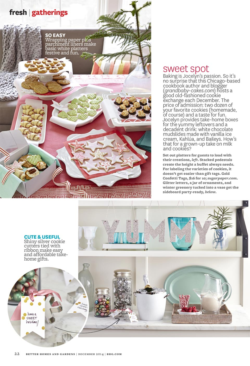 Better Homes and Gardens December 2014