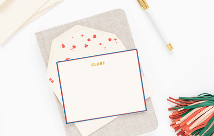 Sugar Paper Social Stationery With Style Simple Paper Pattern