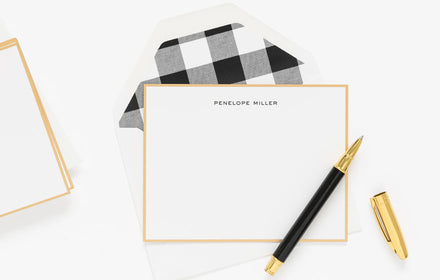 sugar paper social stationery with style