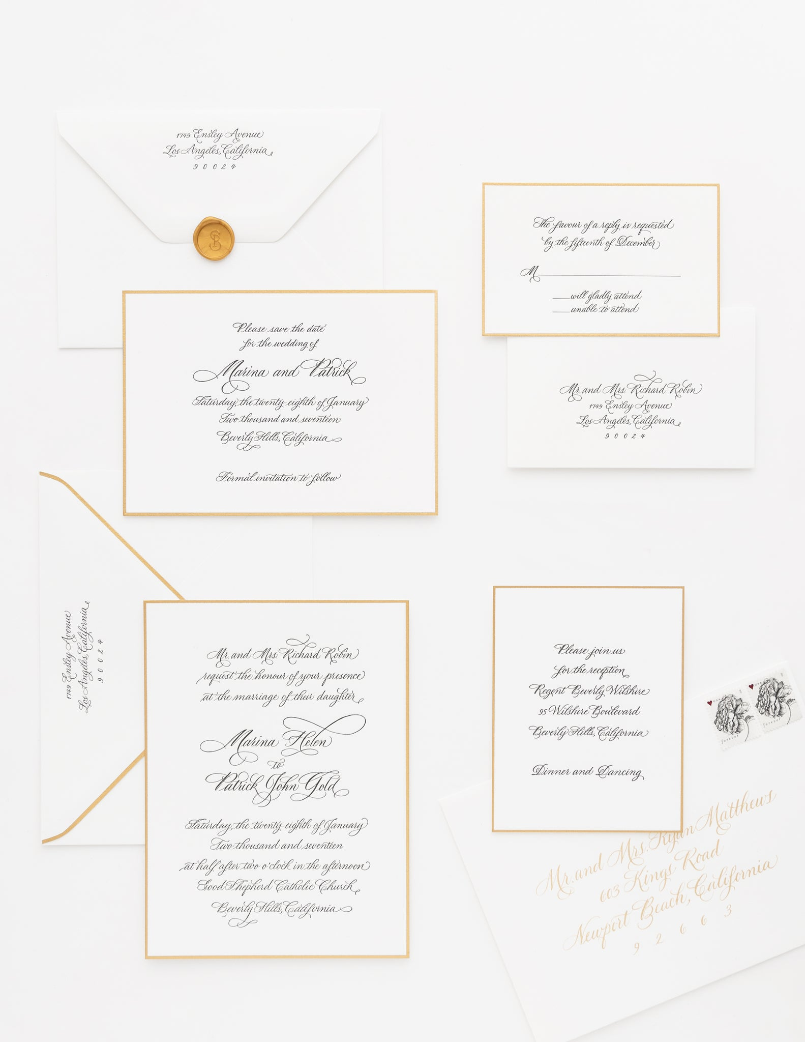 Custom Wedding Invitations – Sugar Paper
