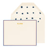 Clare V. Personalized Stationery