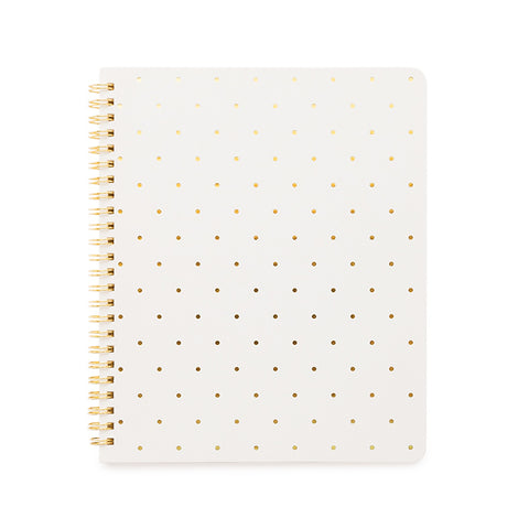 Perfect Dot Notebook, White
