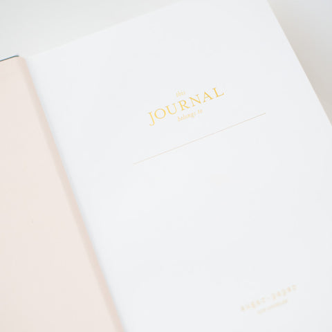 Tailored Journal, Pink