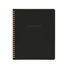Spiral Notebook, Black