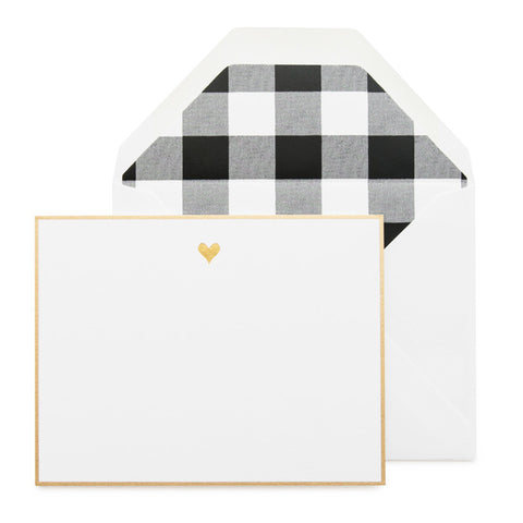 Gold Heart, Black Noteset