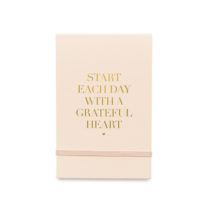 Concealed Pale Pink Notepad, Grateful Heart