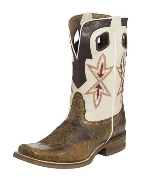 Nocona Mens Shaft Undercut Crackerjack Boots
